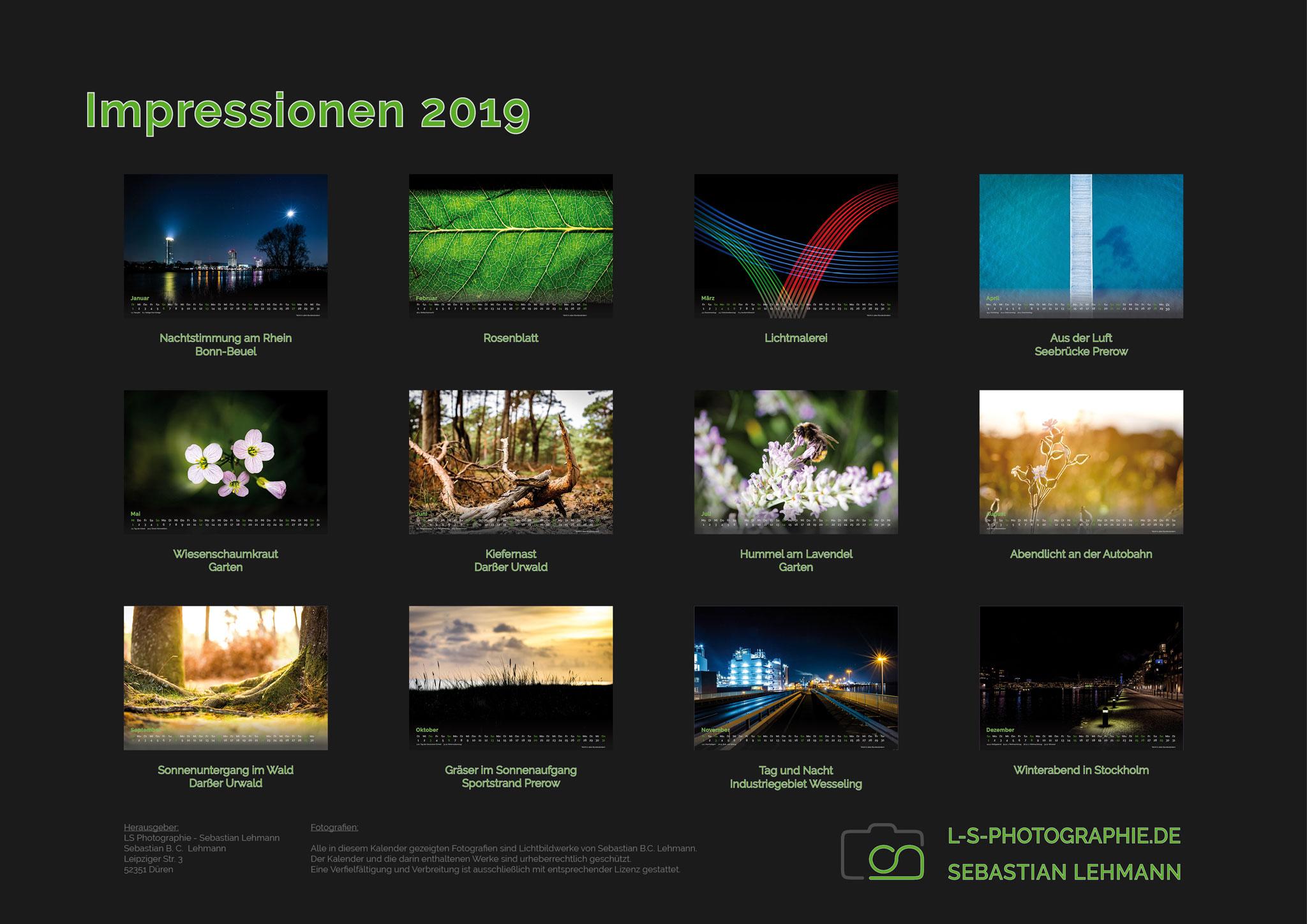 Kalender-2019-A3-14S-Impressionen-Übersichtsseite